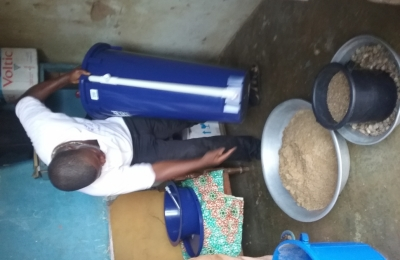 Provision of  Clean Drinking water through Biosand Water filters